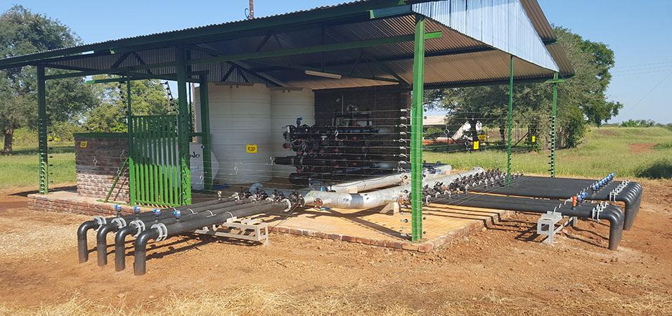 Pump Construction for Bulk Water